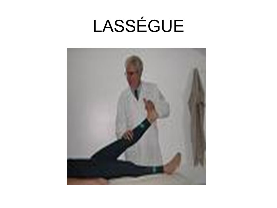 LASSÉGUE