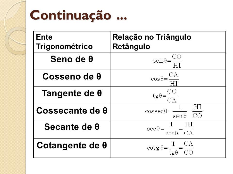 RESUMÃO DE FÓRMULAS tag (90 + α) = cot α tan (90 α) = + cot α tan (180 + α) = + tan α tan (180 α) = tan α cot (90 + α) = tan α cot (90 α) = + tan α cot (180 + α) = + cot α cot (180 α) = cot α sen (270 + α) = cos α sen (270 α) = cos α sen (360 + α) = + sen α sen (360 α) = sen α cos (270 + α) = + sen α cos (270 α) = sen α cos (360 + α) = + cos α cos (360 α) = + cos α tan (270 + α) = cot α tan (270 α) = + cot α tan (360 + α) = + tan α tan (360 α) = tan α cot (270 + α) = tan α cot (270 α) = + tan α cot (360 + α) = + cot α cot (360 α) = cot α sen (α) = sen α cos (α) = + cos α tan (α) = tan α cot (α) = cot α sen (α ± k 360) = + sen α cos (α ± k 360) = + cos α tan (α ± k 180) = + tan α cot (α ± k 180) = + cot α O símbolo k significa um número inteiro e positivo.