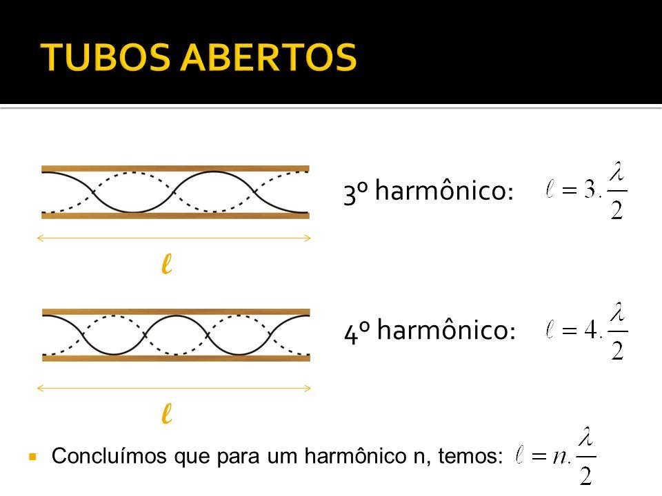 1º harmônico: 3º harmônico: ll