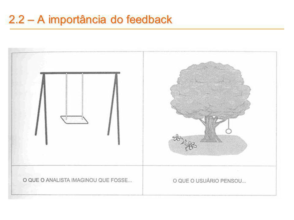 2.2 – A importância do feedback