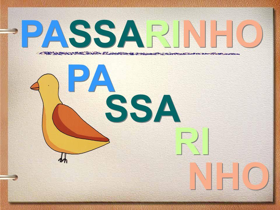 PASSARINHO RI NHO SSA PA