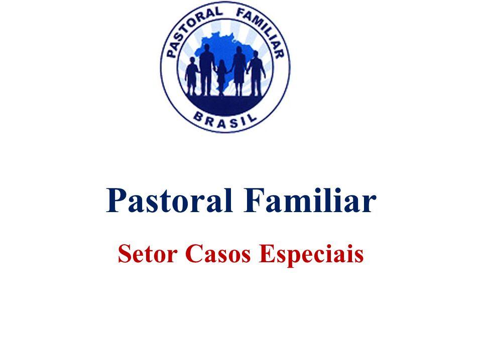 Pastoral Familiar Setor Casos Especiais Pastoral Familiar Setor Casos Especiais