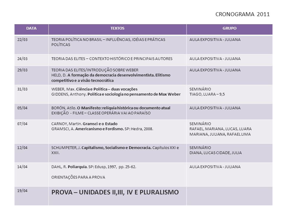 DATATEXTOSGRUPOS 26/04INTRODUÇÃO AO NEOMARXISMO EXIBIÇÃO DE FILME - OPERARIADO AULA EXPOSITIVA - JULIANA 28/04CARNOY, Martin.
