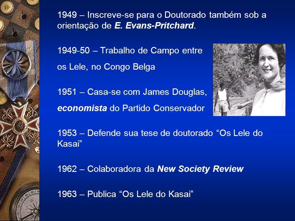 1949 – Inscreve-se para o Doutorado também sob a orientação de E.
