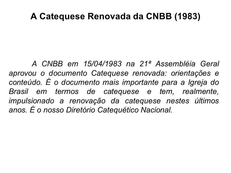 Centro Catequético D. Gabriel Introdução ao Curso de Catequética (4º Aula)