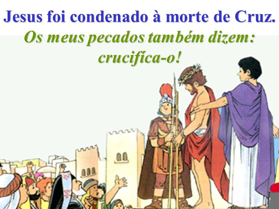 Jesus foi coroado de espinhos. Feito rei da chacota pela minha desobediência.