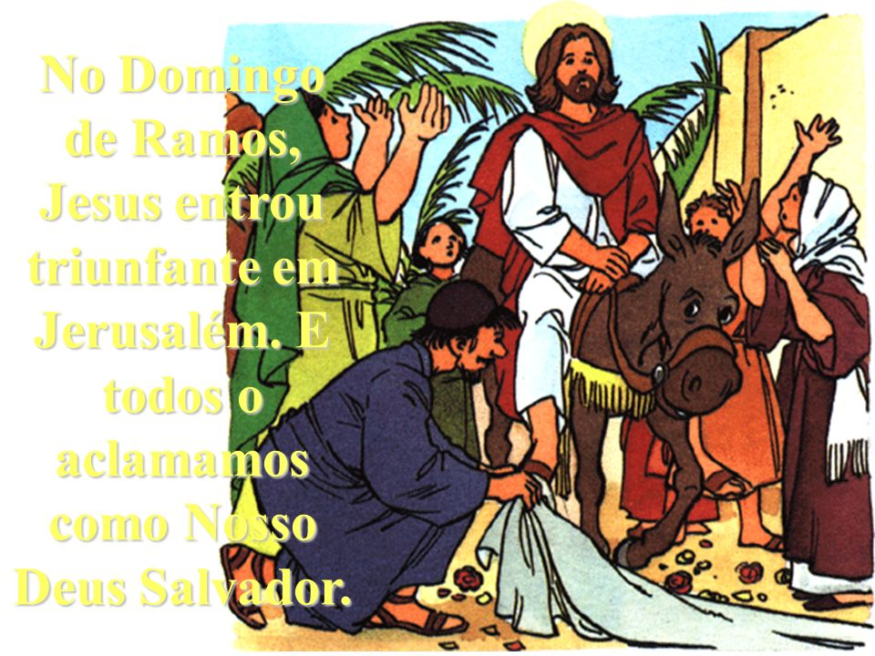 Na Sexta-feira Santa, Jesus ofereceu a Sua Vida por nós na Cruz.