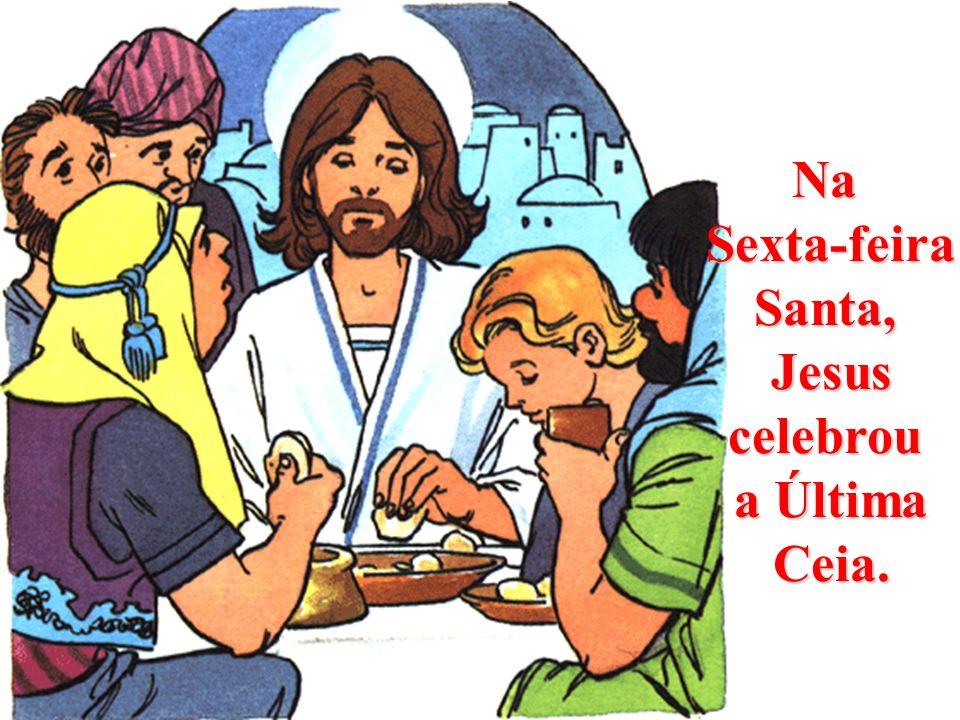 No Domingo de Ramos, Jesus entrou triunfante em Jerusalém. E todos o aclamamos como Nosso Deus Salvador.