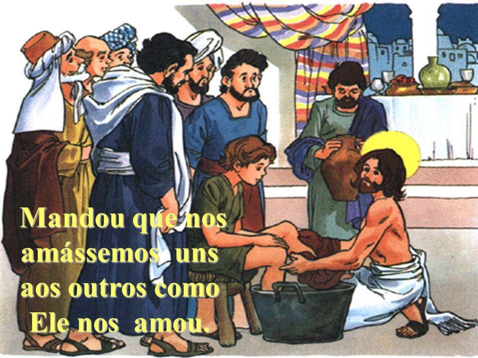 Na Sexta-feira Santa, Sexta-feira Santa, Jesus celebrou Jesus celebrou a Última a Última Ceia. Ceia.