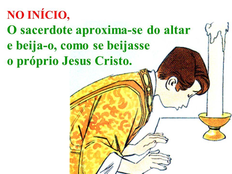 Na Última Ceia, Jesus Cristo disse: isto é meu Corpo que será entregue por vós, e converteu o pão no seu corpo.