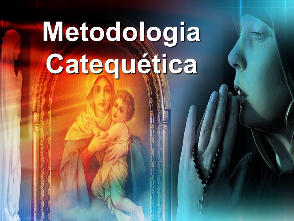 Durante o Encontro Durante o encontro o catequista apresenta o conteúdo permitindo espaço para intervenções e contribuições dos Catequizandos.