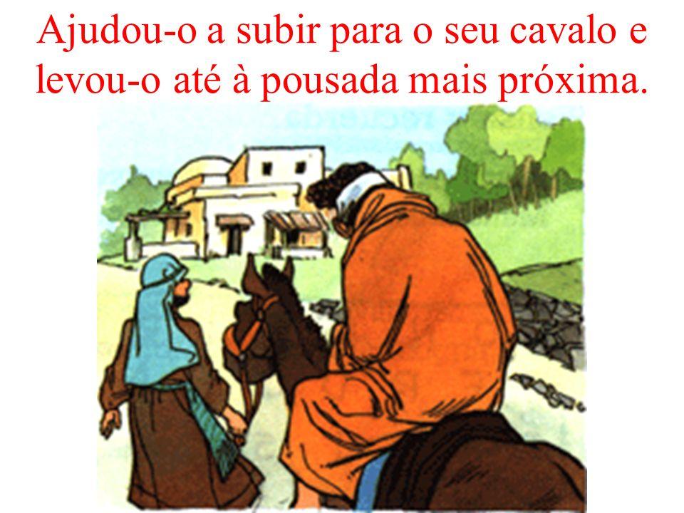 Mas um samaritano (de um povo extranjeiro) viu-o, compadeceu-se e curou-o.