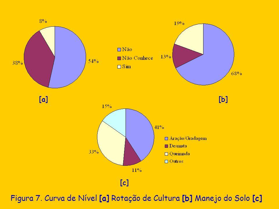 Figura 7. Curva de Nível [a] Rotação de Cultura [b] Manejo do Solo [c] [a] [b] [c]