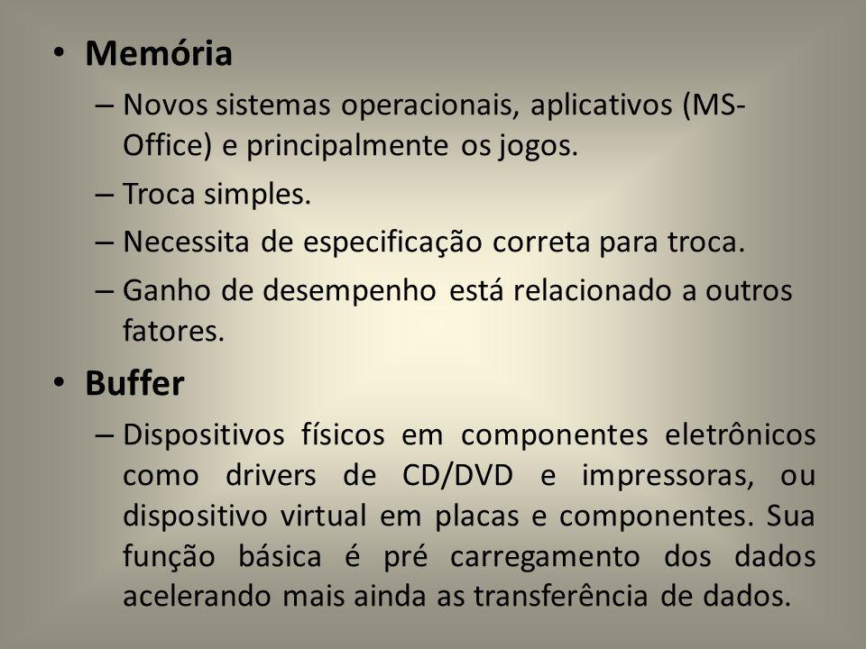 Memórias : Memória Apenas de Leitura (ROM): Memória Apenas de Leitura (ROM): memória com dados pré-gravados, memória somente de leitura.