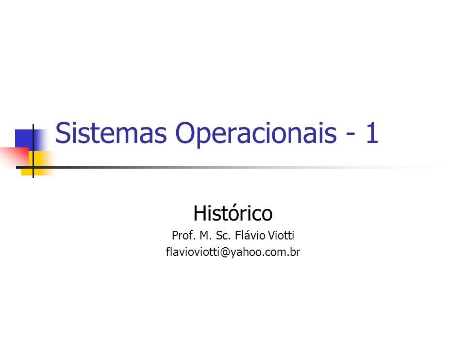 Introdução Um Sistema Operacional, por mais complexo que possa parecer, é apenas um conjunto de rotinas executado pelo processador, de forma semelhante aos programas usuários.
