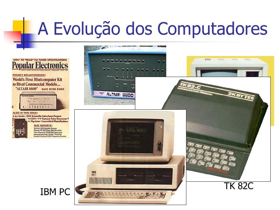A Evolução dos Computadores CP 500 IBM PC TK 82C