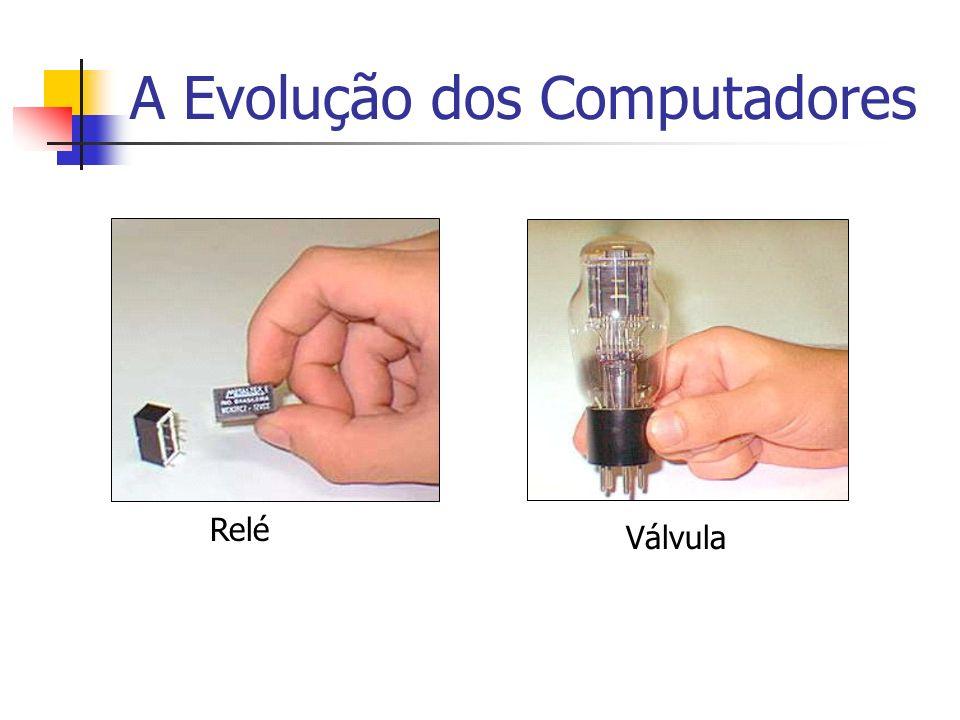 A Evolução dos Computadores Relé Válvula