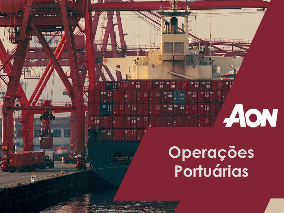 Operações Portuárias Coberturas Excluídas que Podem Ser Contratadas Através de Cláusula Particular: Quebra de máquina e de equipamento.