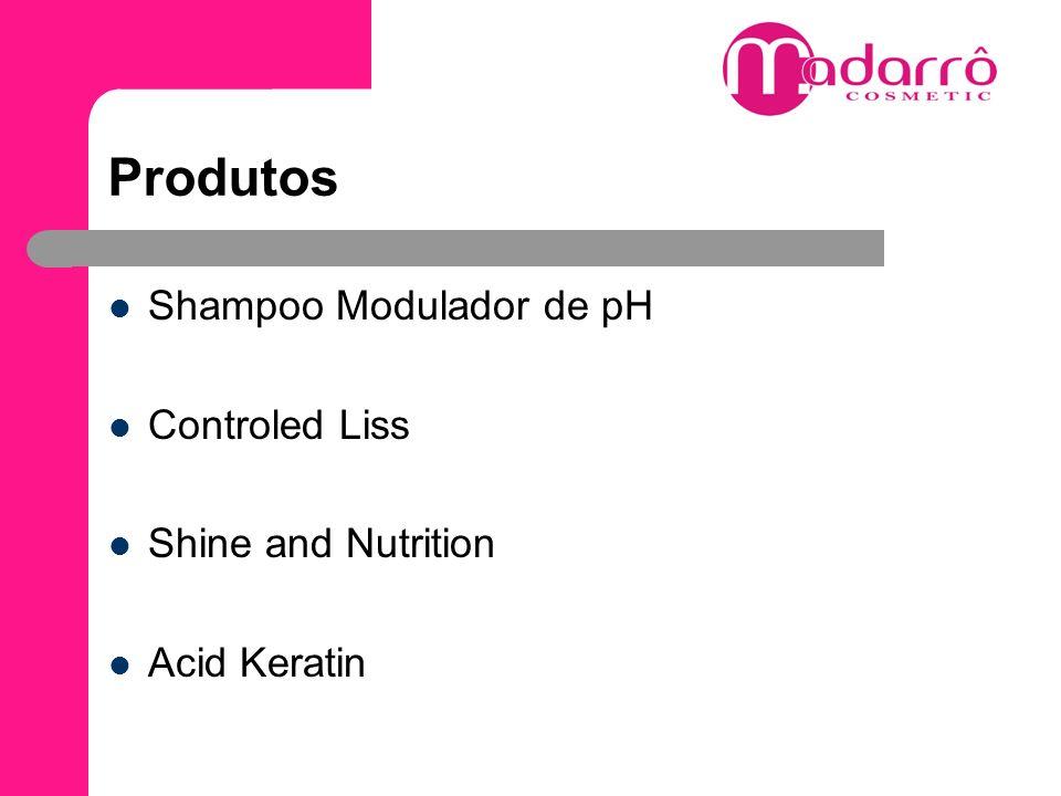 Shampoo Modulador de pH Shampoo de pH 8, Shampoo capaz de modular a abertura das cutículas para a penetração do ativo.