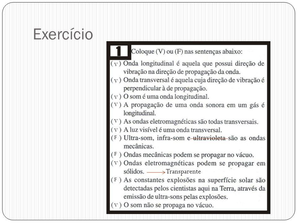 Exercício X X