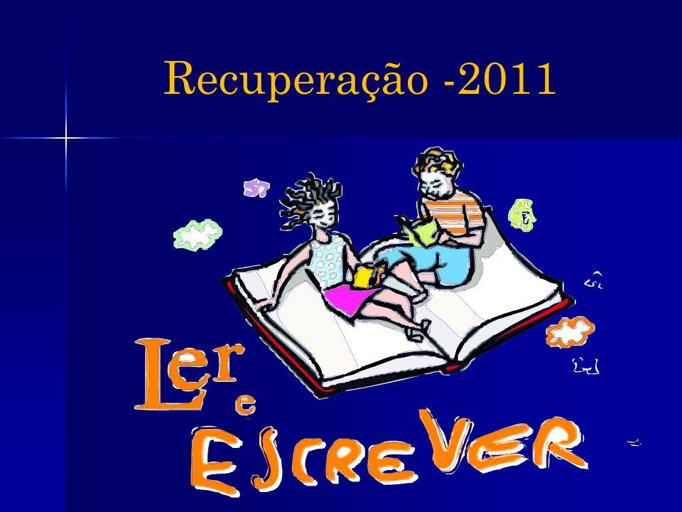 Recuperação -2011