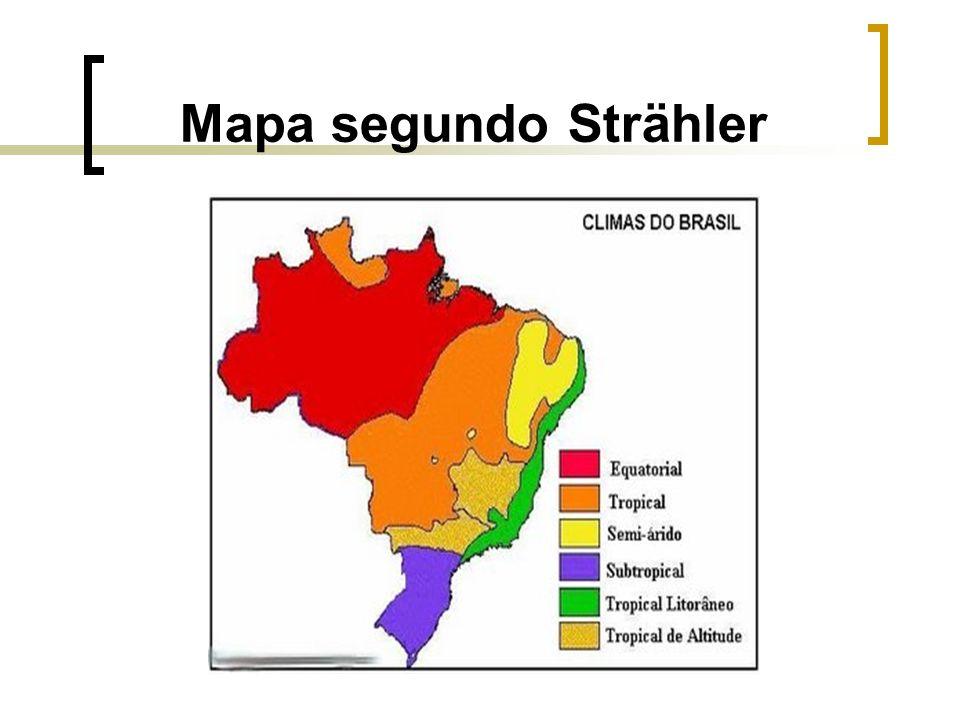 Mapa segundo Strähler