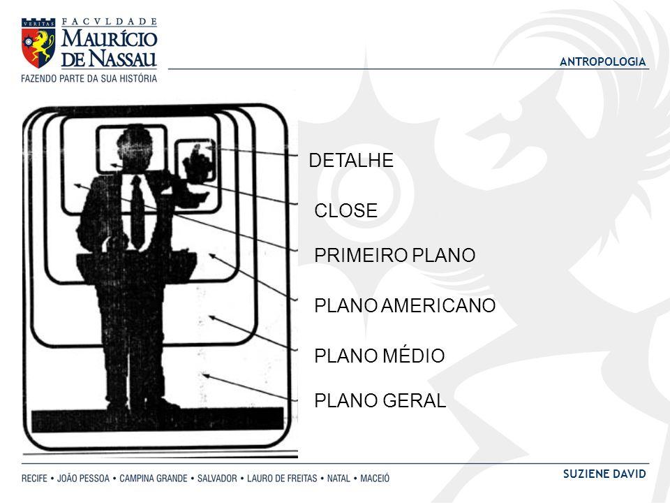 ANTROPOLOGIA SUZIENE DAVID DETALHE CLOSE PRIMEIRO PLANO PLANO AMERICANO PLANO MÉDIO PLANO GERAL
