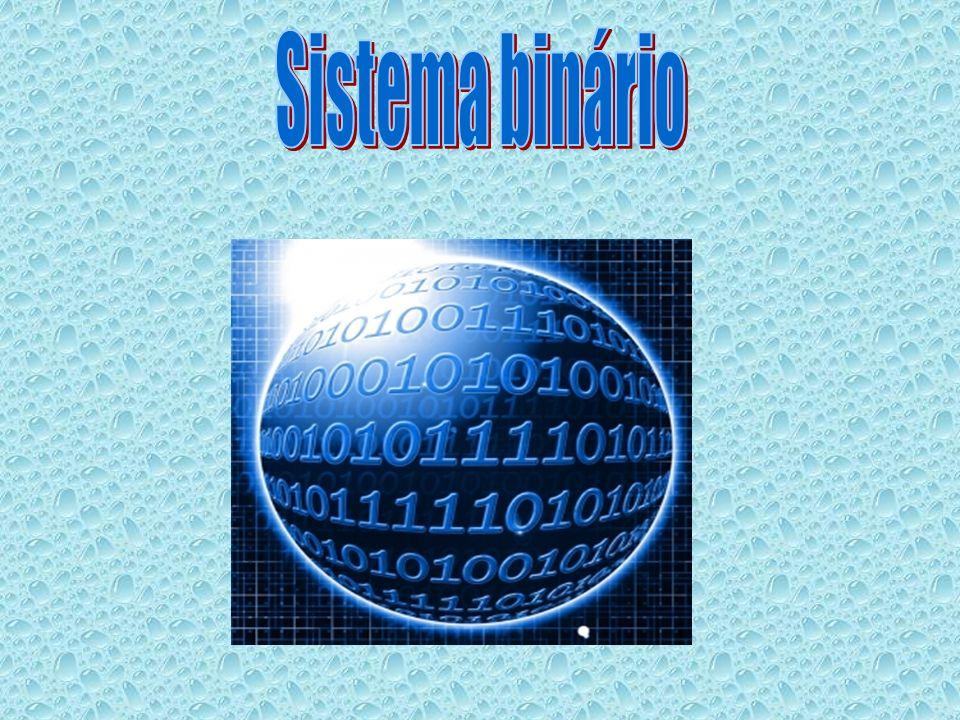 O sistema binário ou de base 2 é um sistema de numeração posicional em que todas as quantidades se representam com base em dois números, ou seja, zero e um (0 e 1).