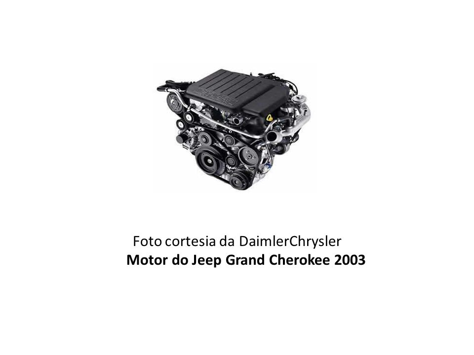 Foto cortesia da DaimlerChrysler Motor do Jeep Grand Cherokee 2003