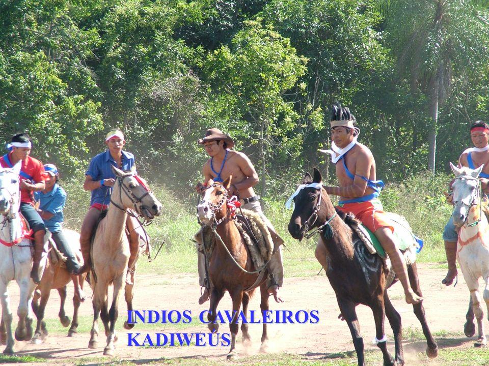 INDIOS CAVALEIROS KADIWEÚS