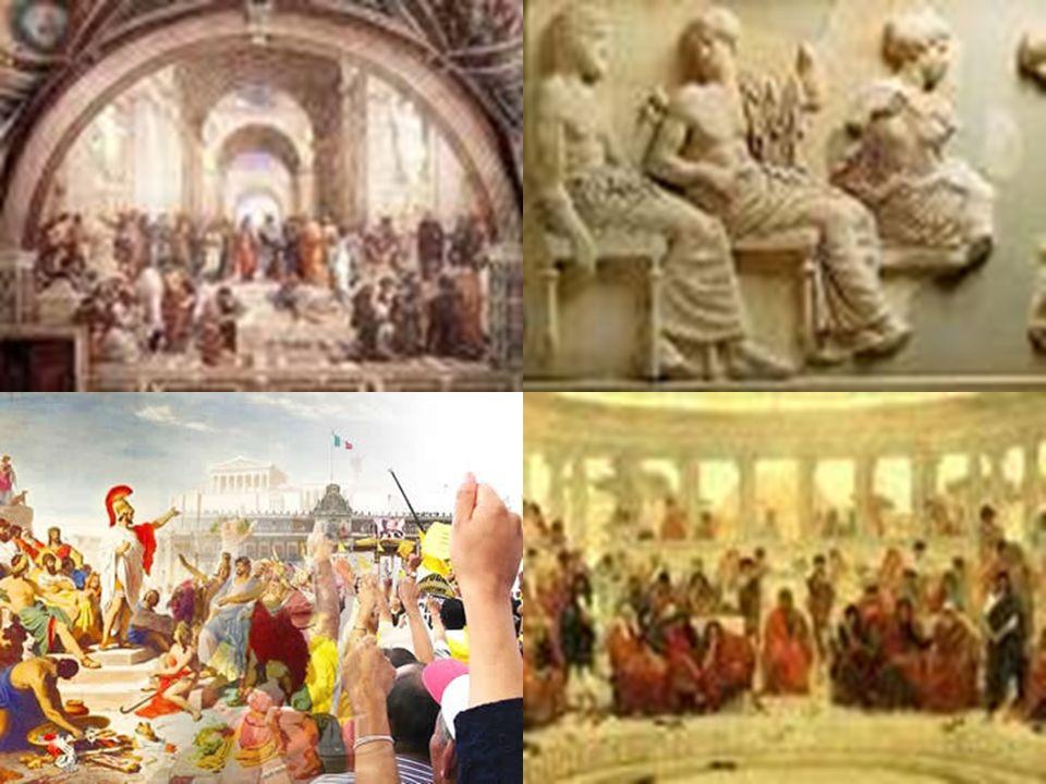 DEMOCRACIA - GRÉCIA ANTIGA A palavra DEMOCRACIA tem sua origem na Grécia Antiga (DEMO = POVO e KRACIA = GOVERNO). Este sistema de governo foi desenvol