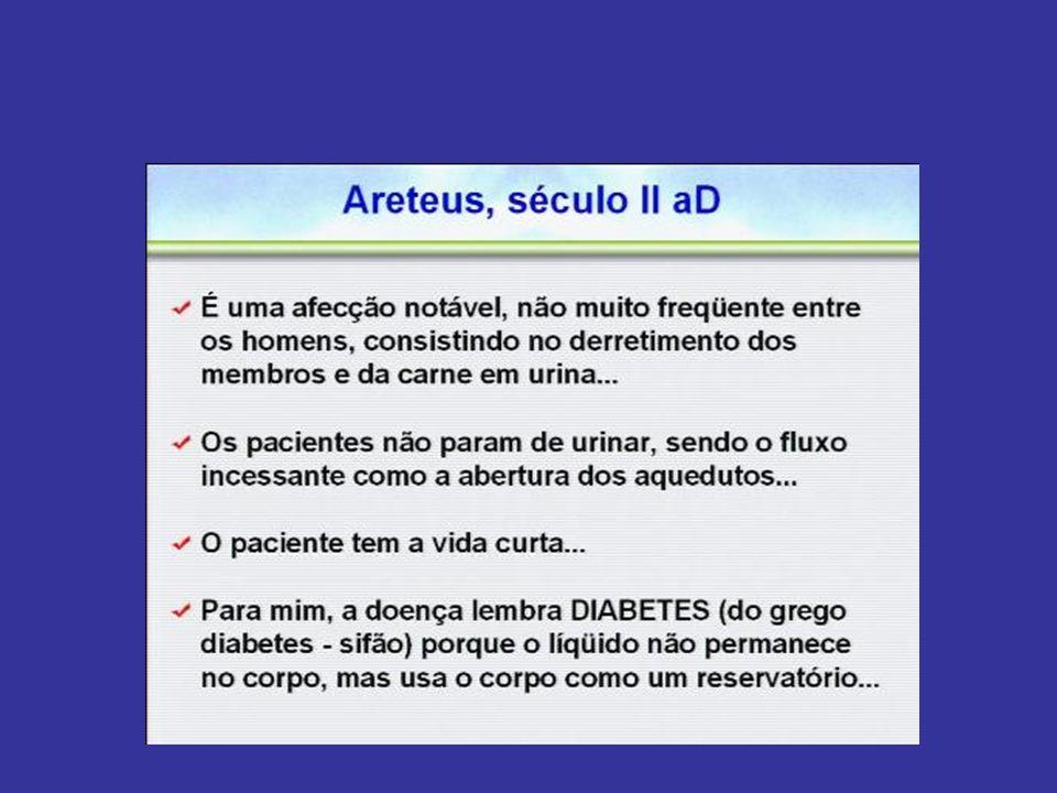 DIABETES COMPLICAÇÕES AGUDAS CETOACIDOSE DIABÉTICA (TIPO 1) SITUAÇÃO CRÍTICA, DE EXTREMA GRAVIDADE, DECORRENTE DA FALTA ABSOLUTA DE INSULINA NO ORGANISMO, PODE LEVAR AO COMA OU A MORTE COMA HIPEROSMOLAR (TIPO 2) SITUAÇÃO CRÍTICA COM ALTOS NÍVEIS DE GLICEMIA QUE PROMOVEM PROFUNDA DESIDRATAÇÃO, LEVANDO AO COMA OU A MORTE QUANDO NÃO TRATADO ADEQUADAMENTE E/OU À TEMPO