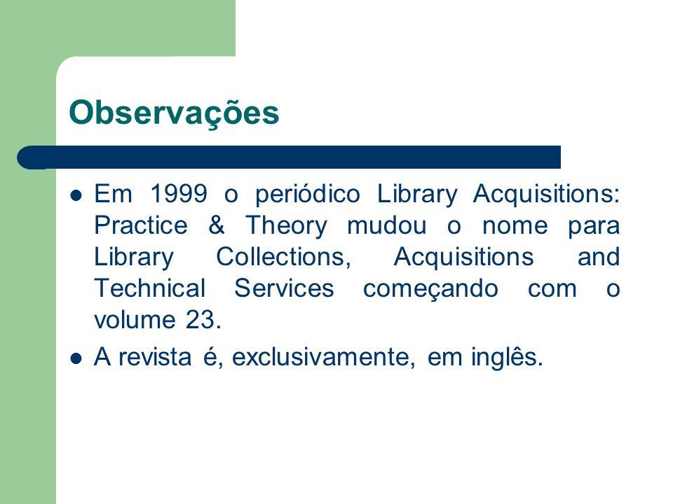 Fonte consultada http://www.periodicos.capes.gov.br/portugues/ index.jsp http://www.periodicos.capes.gov.br/portugues/ index.jsp http://www.sciencedirect.com/science/journal/ 03646408 http://www.sciencedirect.com/science/journal/ 03646408 www.ufrgs.br/revistaemquestao