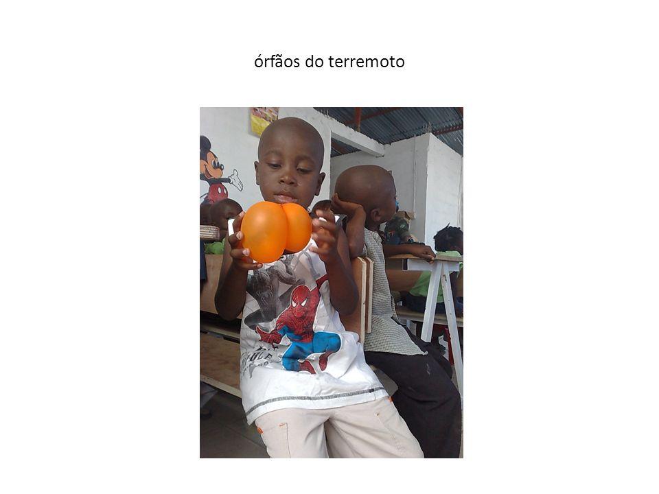 órfãos do terremoto