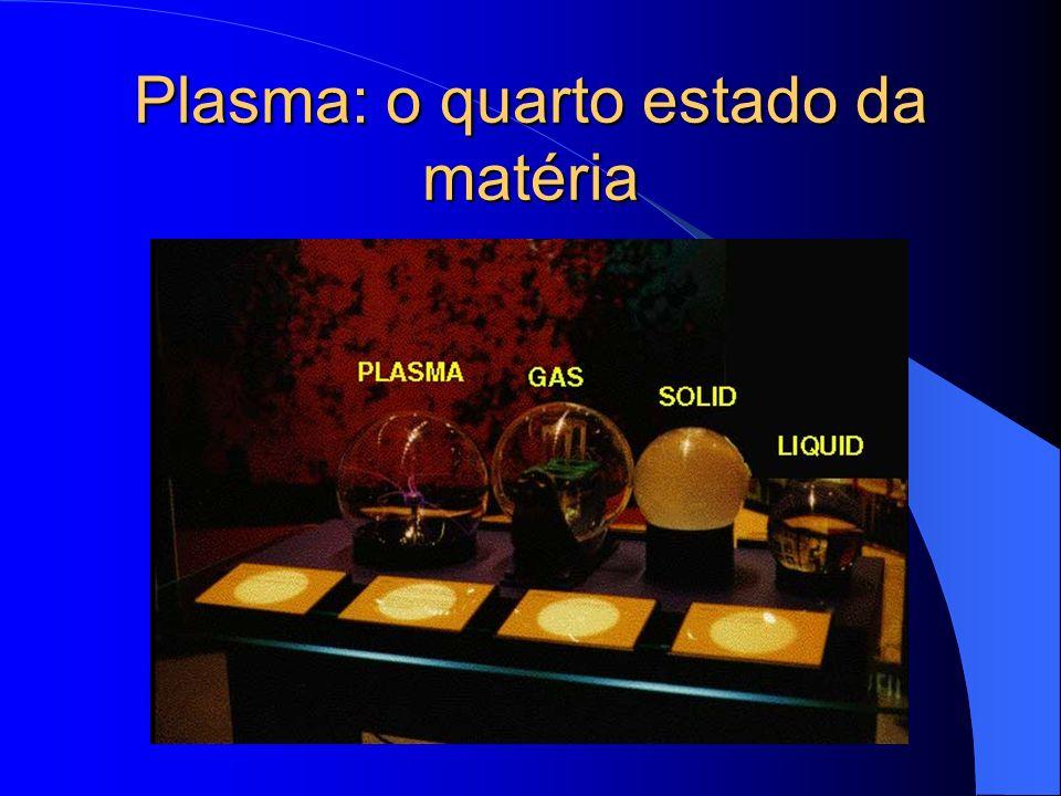 Plasma: o quarto estado da matéria