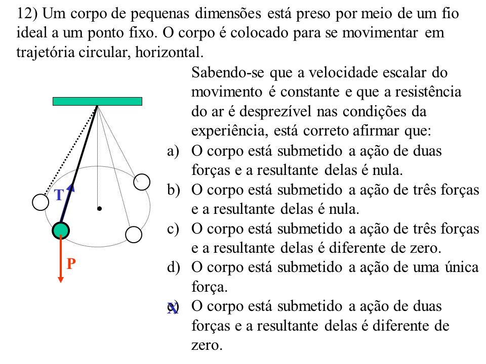 11) Uma polia gira em torno de um eixo em movimento de rotação uniforme. 5 cm = 0,05 m Se a velocidade do ponto A, que está a 5 cm do eixo de rotação,