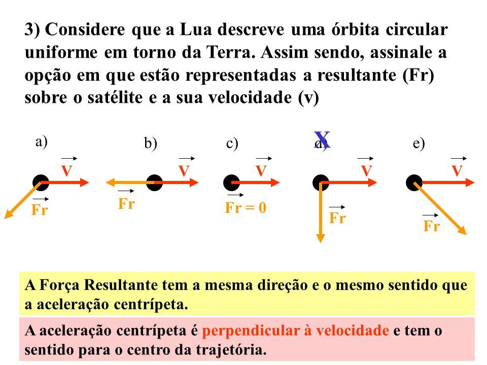 2) Em uma estrada, dois carros A e B entram simultaneamente em curvas paralelas com raios rA e rB. O velocímetro de ambos os carros indicam, ao longo