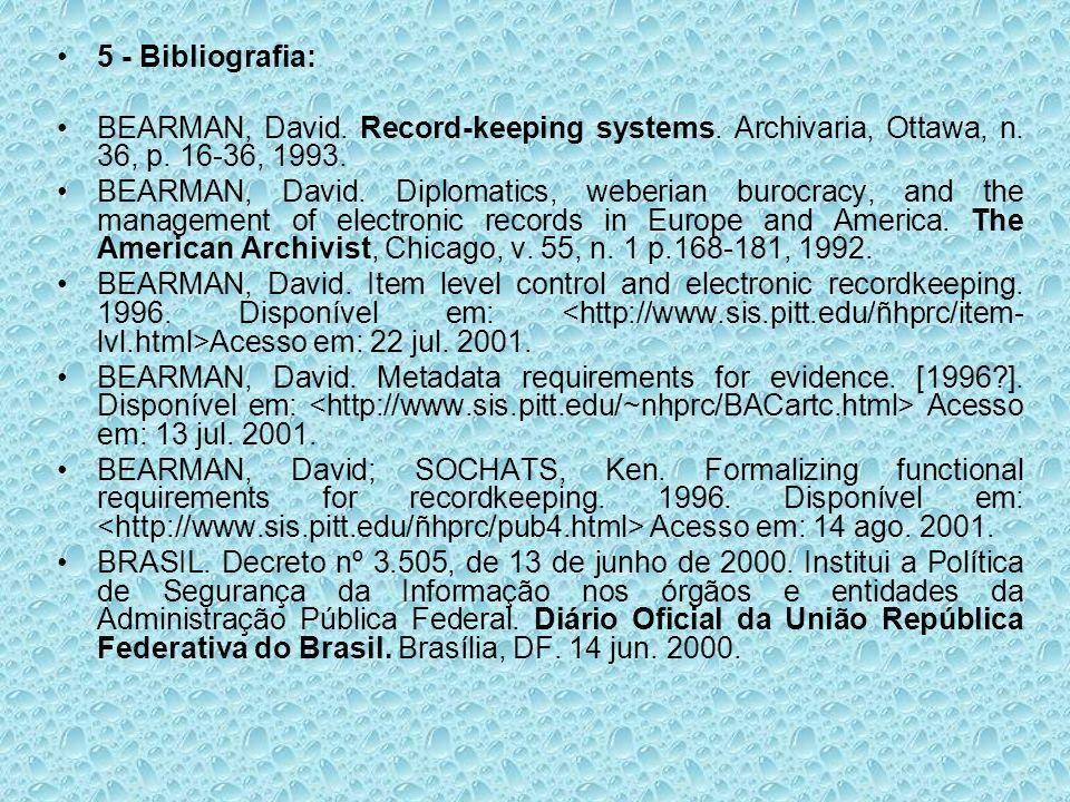 BRASIL.Decreto nº 3.587, de 5 de setembro de 2000.