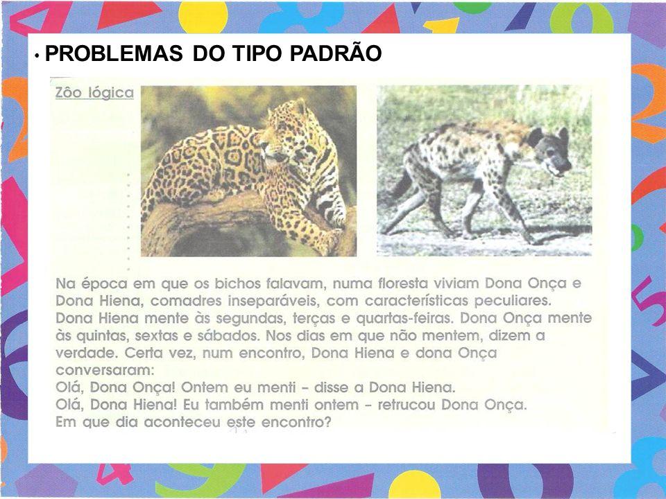 PROBLEMAS DO TIPO PADRÃO