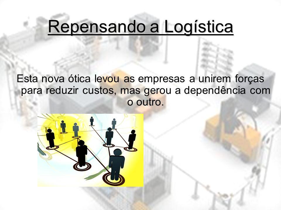 Repensando a Logística Supply Chain é todo esforço envolvido nos diferentes processos e atividades empresariais que criam valor na forma de produtos e serviços para o consumidor final.