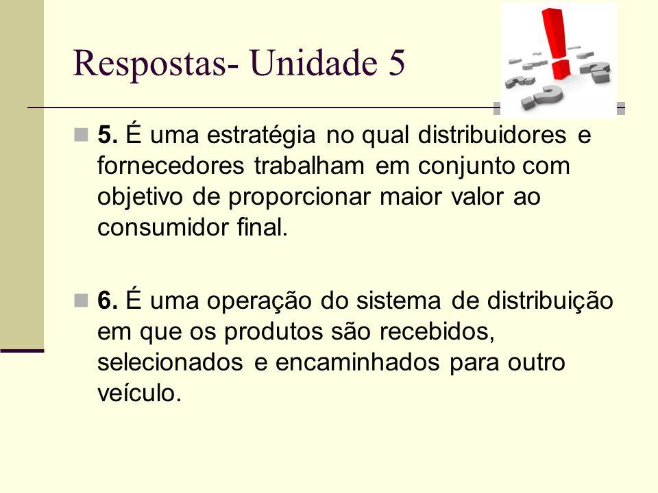Respostas- Unidade 5 5.