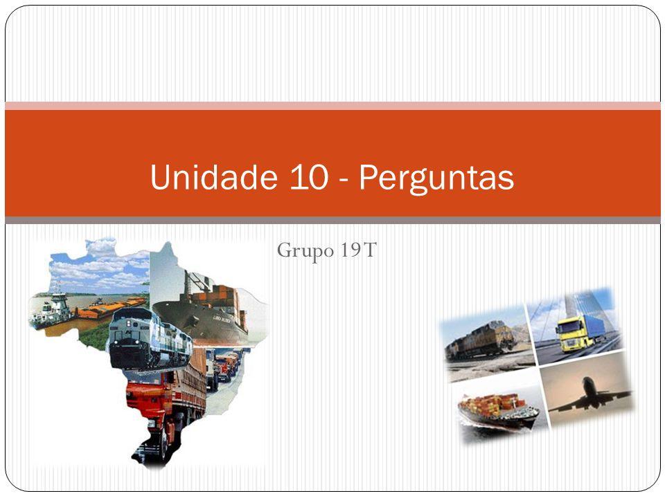 Perguntas Unidade 10 1 - Como funciona o modal de transporte dutoviário.