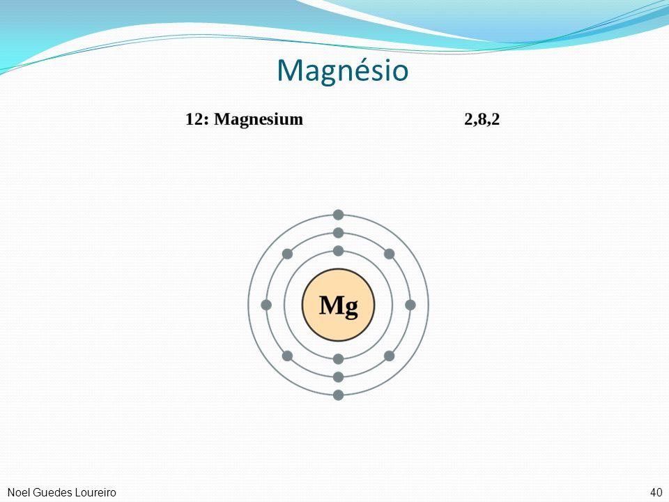 Magnésio 40Noel Guedes Loureiro