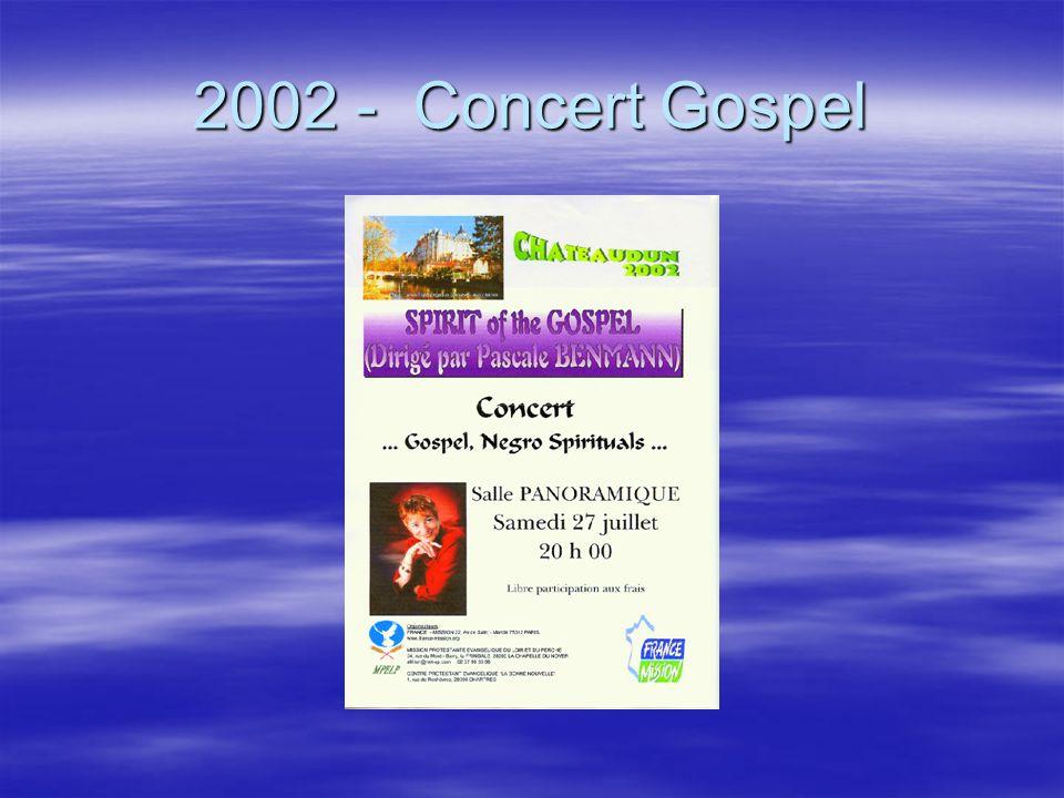 2002 - Concert Gospel