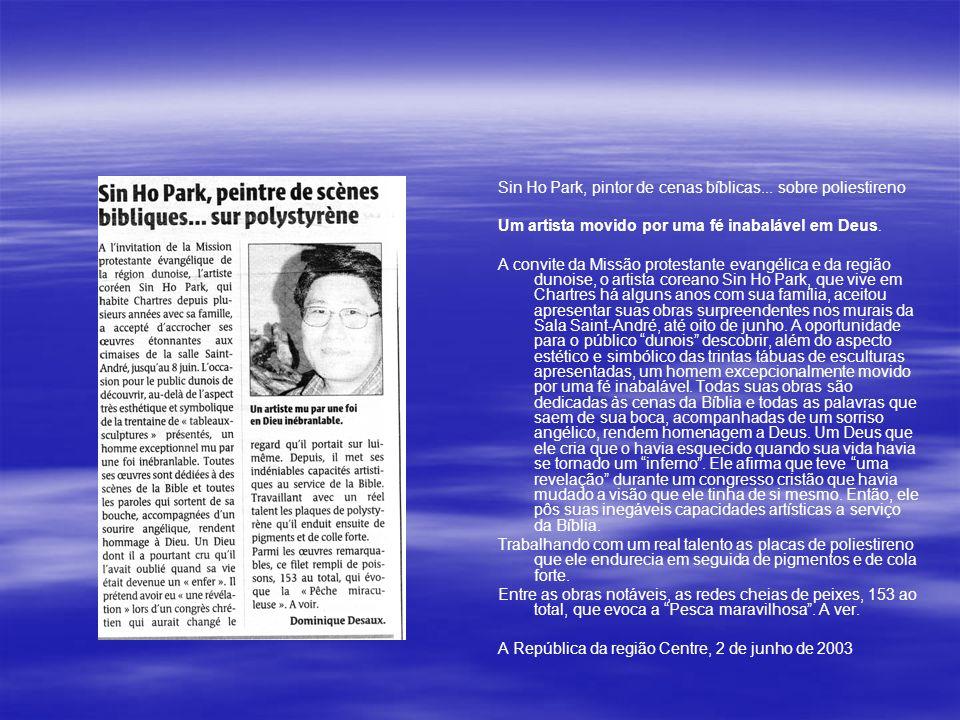 Sin Ho Park, pintor de cenas bíblicas...