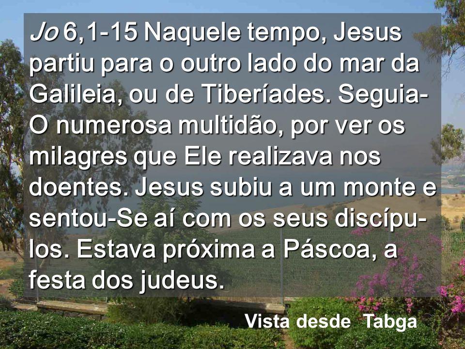 Jesus é o PÃO de TODOS Exterior da igreja