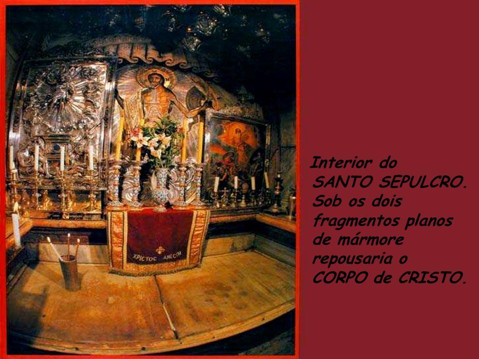 Lugar tradicional onde se crê que foi cravada a Cruz de Jesus.