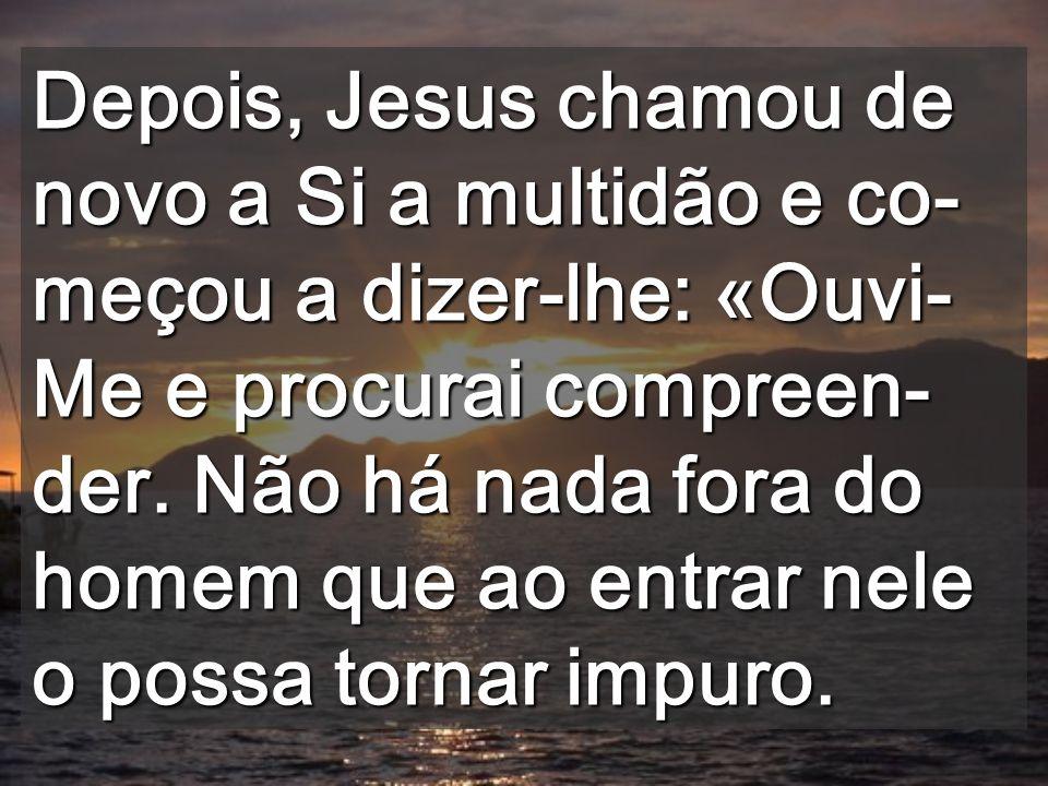 O valor não está no culto exterior Vós adornais os templos, mas tendes Cristo metido na pressão (S. João Crisóstomo)