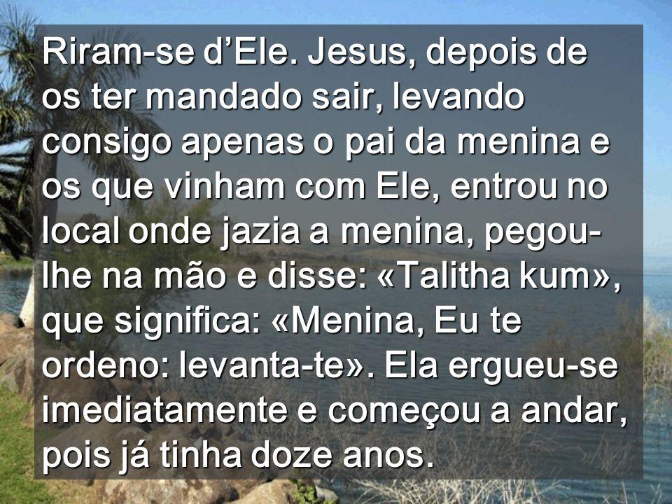 Choram porque só vêem o imediato Quando Cristo nos ilumina levantamo-nos (Ef 5,14)
