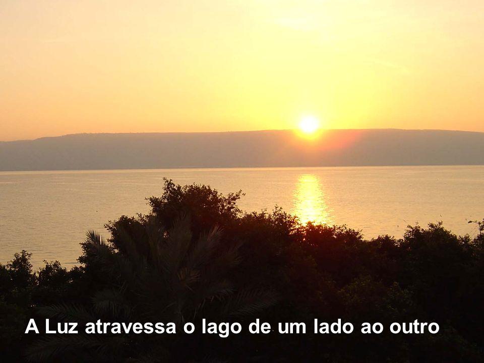 Através de uns milagres à volta do lago, Marcos revela que Jesus é VIDA Lago da Galileia 1-Passemos à outra margem 3- Milagre 2-Temporal 4- Retorno Ho